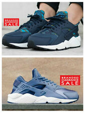 BNIB New Women Nike Air Huarache Run Print Navy Obsidian size 4 5 6