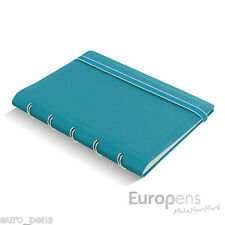 "Filofax Pocket Size Refillable ""Leather-Look"" Ruled Notebook"