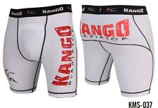 MMA KANGO THAI MUAY THERMAL COMPRESSION SHORTS UFC RASH GUARD BOXING FIGHT SHORT