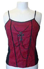 Raven vest with cross and chain RCP25