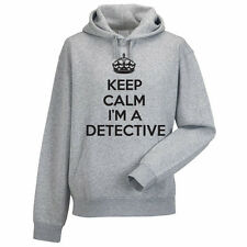KEEP CALM I'M A DETECTIVE - Private Investigator Themed Men's Hoody / Hoodies