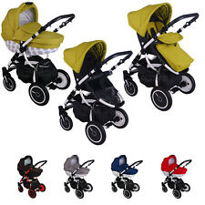 Pram Stroller buggy Pushchair  poussette Sweet Baby car seat  swivel wheels