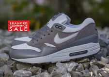 BNIB New Boys Nike Air Max 1 Essential Trainers Grey Size 5.5 uk