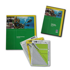 PADI Enriched Air Nitrox Tables Diver Speciality - manual DVD crewpack