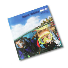PADI Open Water Manual with dive planner