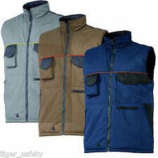 Delta Plus Panoply MCGIW Mach Corporate Mens Padded Bodywarmer Gilet Coat Jacket
