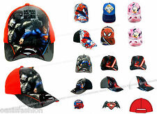 Marvel Avengers Disney Spiderman Superman STAR WARS Casquette de baseball