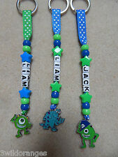 personalizado llavero chapa Bolso Bagtag Monsters University Inc Sully Mike