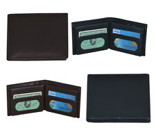 Men's Wallet Bifold Leather Credit Card Holder ID Card Holder  Billfold Purse