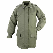 Genuine Italian Army Issue Military Combat Field Parka Olive Drab Coat GRADE1