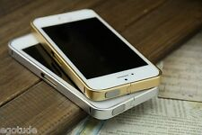 LUXURY Aluminium Metal Cover Case Bumper Side Frame for Apple iPhone 5S / 4S
