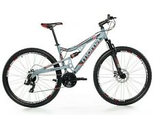 "VTT 29"" Mountainbike ALUMINIUM SHIMANO PROFESSIONNEL, 2xDISQUE, FULL SUSPENSION"