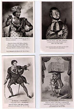 THEATRICAL ACTOR POSTCARD SHYLOCK OTHELLO HAMLET KATHARINA CRESSIDA POSTCARDS