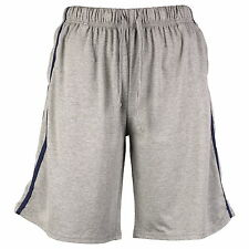 OCTAVE® Mens 100% Cotton Jersey Summer Lounge Shorts / Pants With Pockets