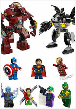 Lego Super heroes Avengers minifigures rare exclusive collectable minifigs uk 6+