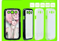 5 x 2D Blank Sublimation Phone Printing Personalise Case Apple iPhones/ Samsung