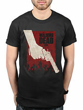 Official The Walking Dead Revolver camiseta serie TV Zombie Apocalipsis