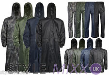 Largos Para Hombres Impermeable Cagoule Trenchcoat Impermeable Kagool Kag Mac