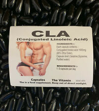 Conjugated Linoleic Acid CLA 1000mg Capsules Weight Loss / Increase Muscle Mass