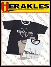 T-Shirt nera in Cotone Colmic spinning Herakles