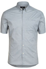 Rapha Grey/blue Short Sleeve Shirt. NEW