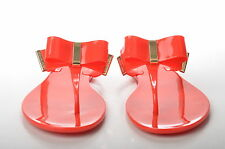 NEW MICHAEL KORS KAYDEN THONG WOMENS MANDARIN JELLY SANDALS UK 5.5 / 6.5 / 7.5