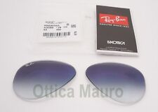 RAY BAN Rb 3025 Blu sfumato LENTI - REPLACEMENTS RAY BAN 3025 BLUE SHADED LENSES