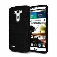 Bumper Case Composite Hard Dual Armor TPU with Stand for LG G3