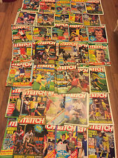 Match Magazines,1981, Choose your favourite issue and find poster/article, MINT