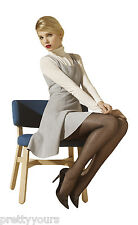 New Womens Luxury Diamond Pattern Microfibre Fashion Tights for Girls 20 Denier