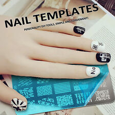 Choose 1PCS Plaque de Tampons Vernis Stamping Nail Art Image Timbre Tips newest