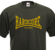 T-Shirt HARDCORE ( graphisme Lonsdale ) - Old School NYHC Madball Agnostic
