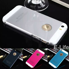 Luxury Aluminum Frame+Acrylic Back Cover Case Bumper For Apple iPhone 6 6S