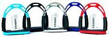 FLEXI SAFETY STIRRUPS HORSE RIDING BENDY IRONS STAINLESS STEEL 5 NEW COLORS