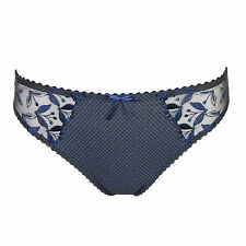 Prima Donna Jewel Gris Rio Brazilian Brief - Size M