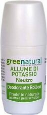 DEODORANTE ALLUME DI POTASSIO NEUTRO ALLUME DI ROCCA ROLL ON 75ml