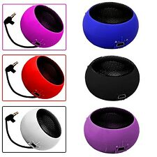 3.5MM PORTABLE CAPSULE BLACK SPEAKER FOR SAMSUNG GALAXY ACE3 S7270 S7275