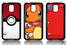 PIKACHU CHARMANDER POKEMONS SAMSUNG S3 S4 S5 MINI COVER CASE CARCASA FUNDA