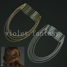 Long Metal Chain Fringed Comb Wholesale Korean Version Of The New Special