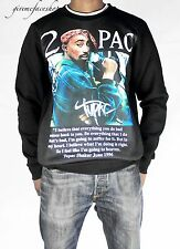 Time is Money G bar rap sweatshirt, 2pac star print jumper hip hop mens, boys