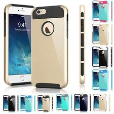 Shockproof Hybrid RubberBumper Hard Case Cover Shell For iPhone 6 6s/6 6S Plus/5