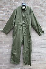 MILITARY GB BRITISH ARMY GREEN OVERALLS BOILERSUIT USED PAINTBALL D.I.Y HOOKLOOP