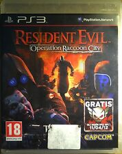 Resident Evil Operation Raccoon City - PRECINTADO - PS3 - PAL España - Juego