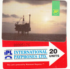 UK Oil & Gas Rig phonecards - superb used condition multi listing.