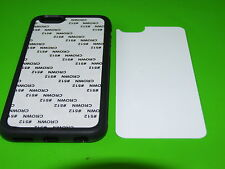 10 x 2D Blank Sublimation Phone CASE Printing Personalise Apple iPhones/ Samsung