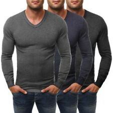 ozonee Bruno Leoni 262 Pull Hommes Pull Sweat coupe slim à manches longues