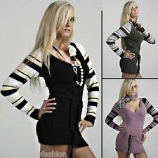 New Sexy Ladies Womens Tunic Sweater Jumper Mini Dress Top size S/M/L 8/10/12 UK