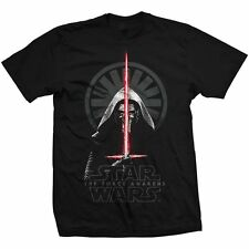 Star Wars Ep VII The Force Awakens Official Printed T-shirt - Kylo Ren Shadows