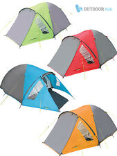 Ascent 2 3 4 Man Berth Person Tent Easy Pitch Family Camping Festival Hiking