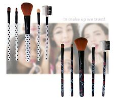 Set 4 pennelli trucco cosmetic brush make up applicatori cosmetici idea regalo